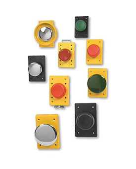 Single Plunger Push Button Switches